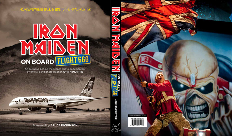 ON BOARD FLIGHT 666 - Book Jacket