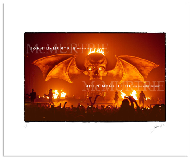 AVENGED SEVENFOLD allied bat wings fb ad