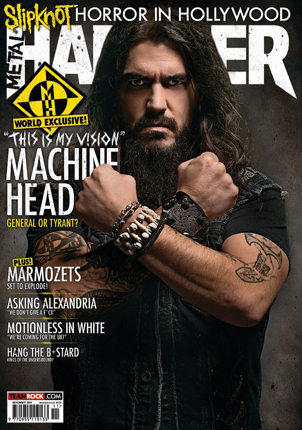 metal hammer rob